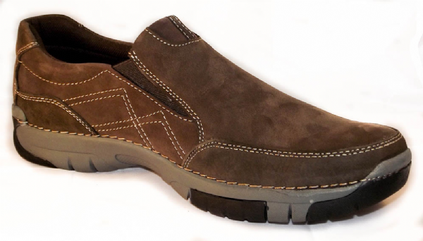 Sheepscombe Coffee nubuck leather.